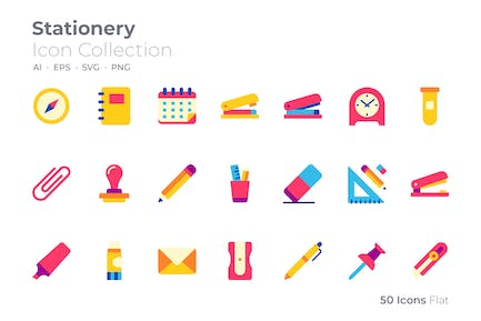 Stationery Color Icon