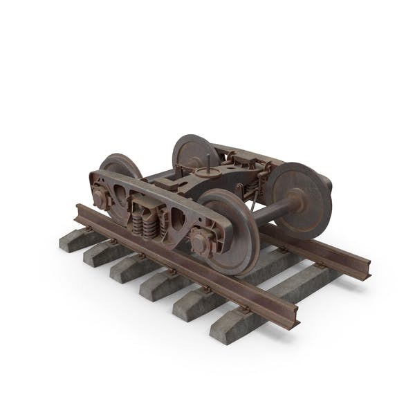 18-100 Railway Bogie