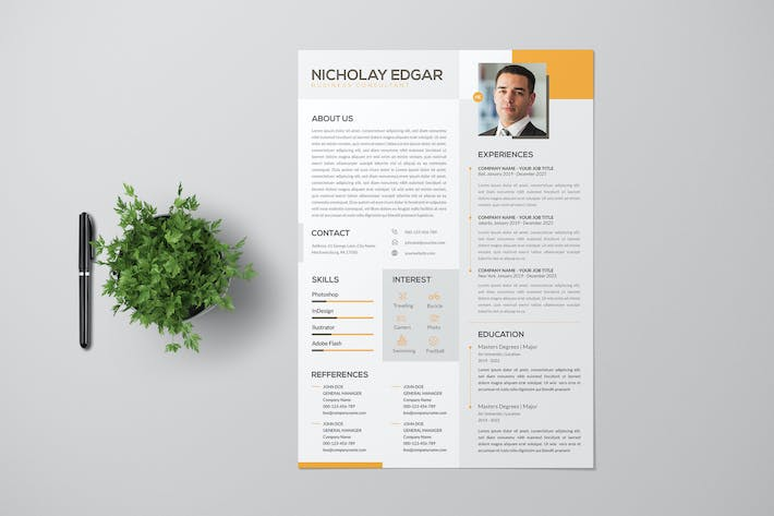 Clean Business Consultant CV