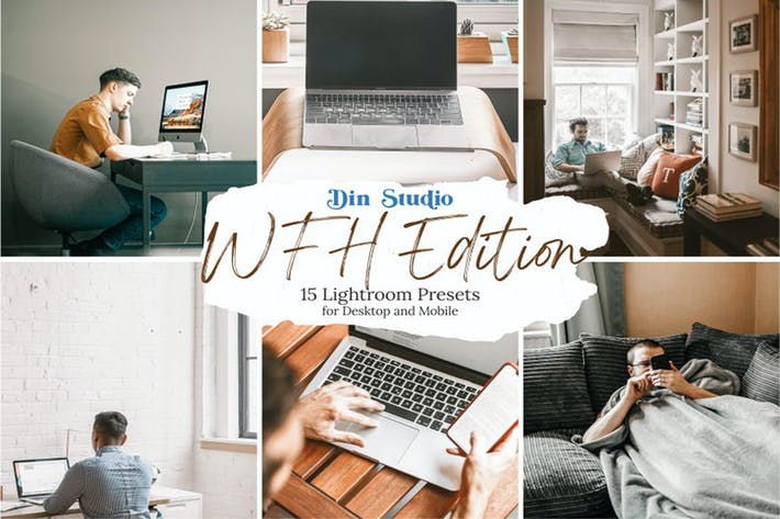 Thumbnail for WFH Edition Lightroom Presets
