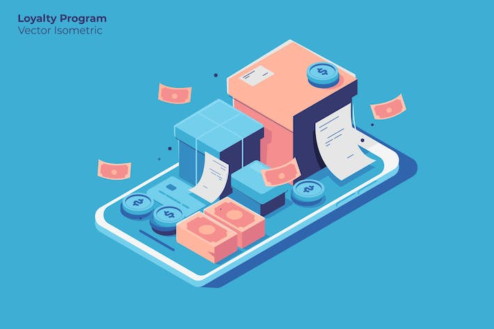 Loyalty Program - Vector Illustration