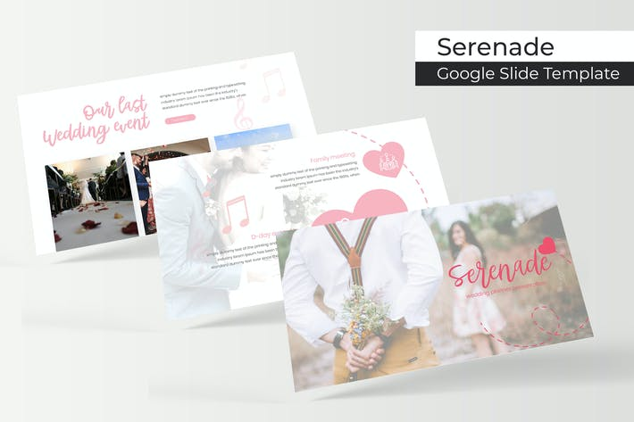 Thumbnail for Serenade - Google Slide Template