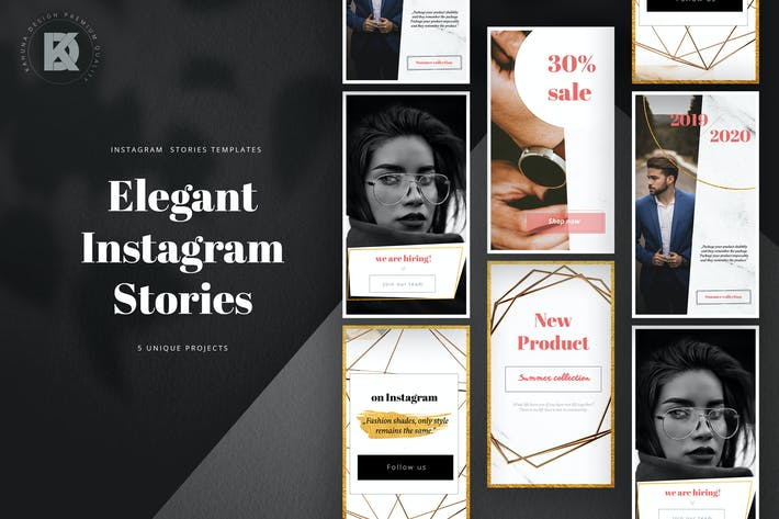 Thumbnail for Elegant Instagram Stories