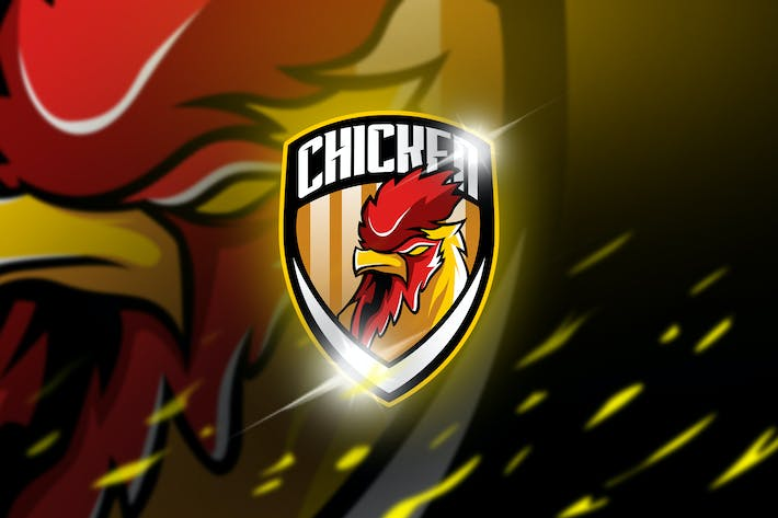 Chicken - maskot & logo esport