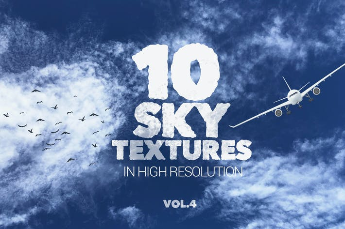 Thumbnail for Sky Textures x10 vol4