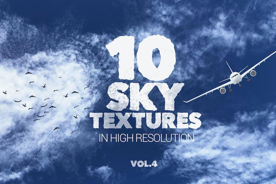 Sky Textures x10 vol4