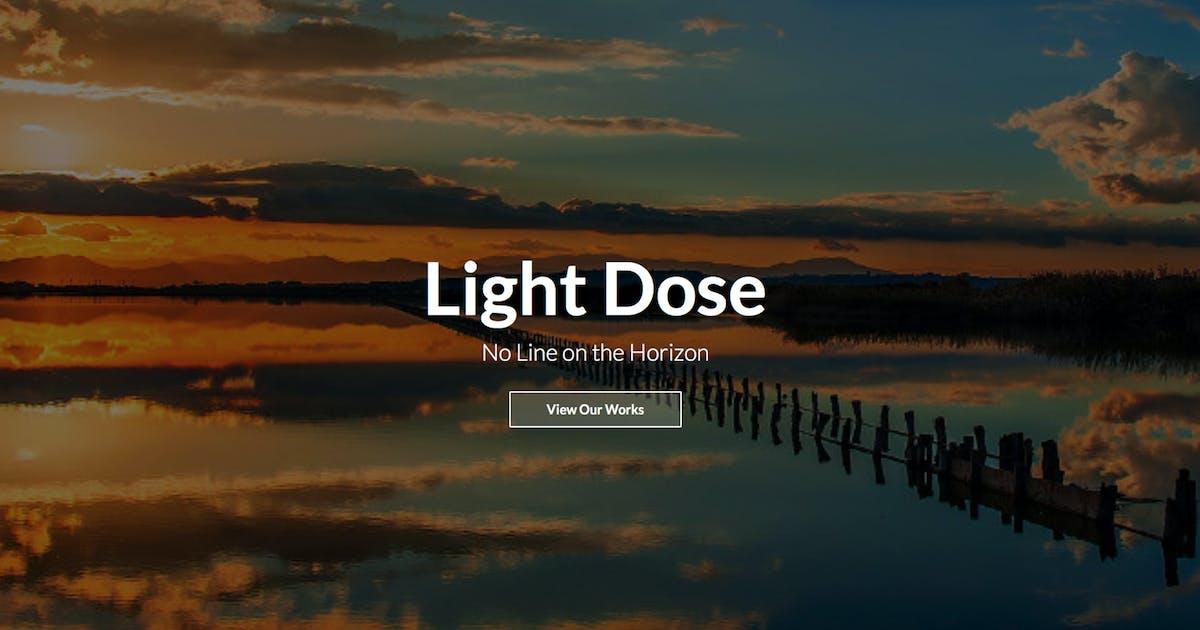 Download LightDose — Flat&Minimal Responsive HTML Template by WpWay_