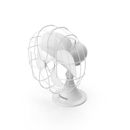 Monochrome Desk Fan
