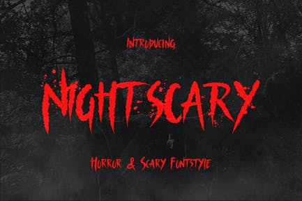 Nightscary – Horror and Scary Font