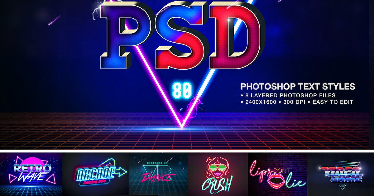 Download Retro Text Effects by mixmedia87