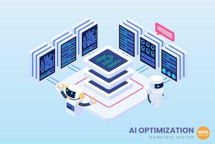 Ai Optimization Concept Illustration