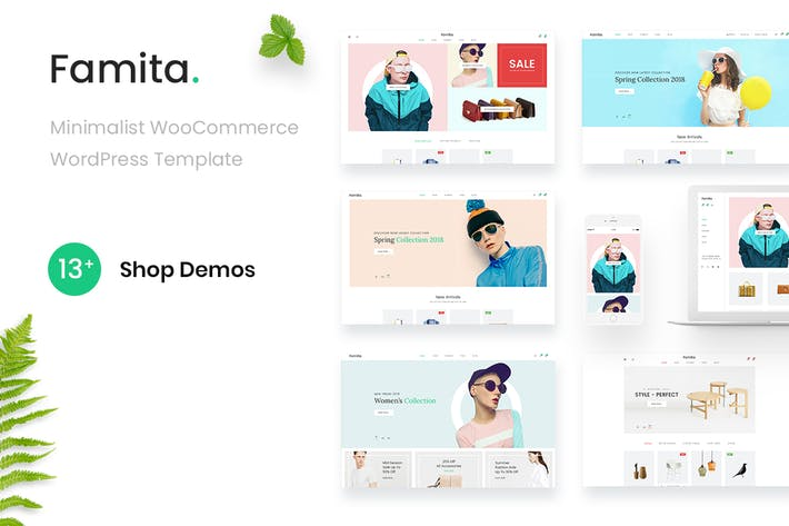 Thumbnail for Famita - Minimalist WooCommerce WordPress Theme
