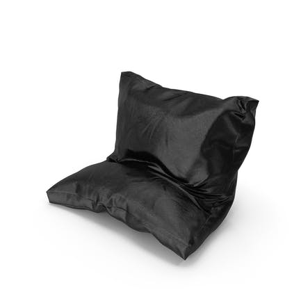 Leaning Pillow leather