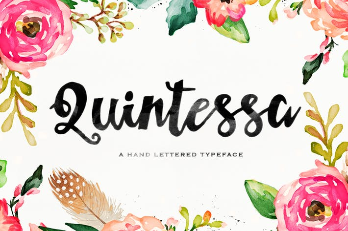 Thumbnail for Quintessa Typeface
