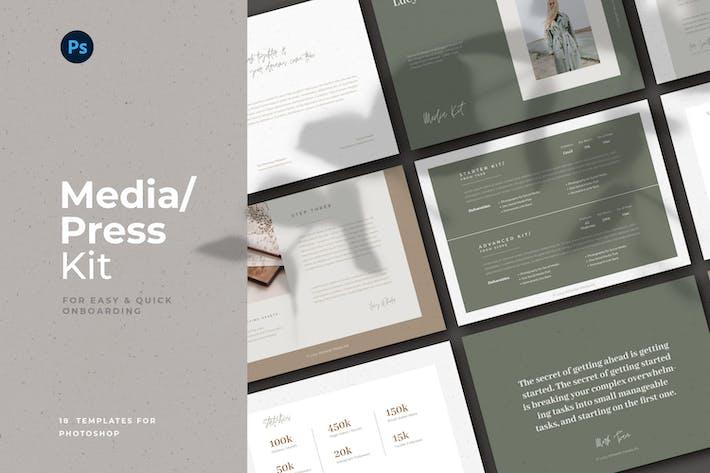 Thumbnail for Media Press Kit For PSD
