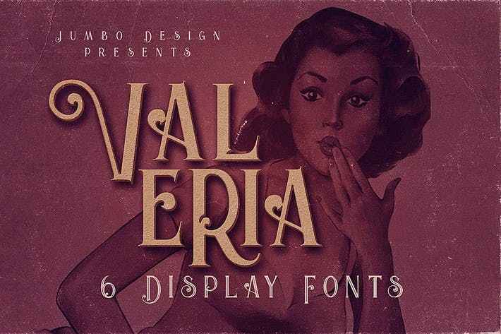 Thumbnail for Valeria - Display Font