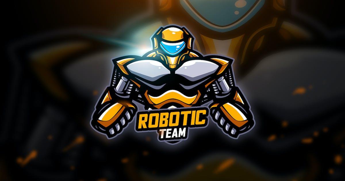 Download Robotic 2 - Mascot & Esport Logo by aqrstudio