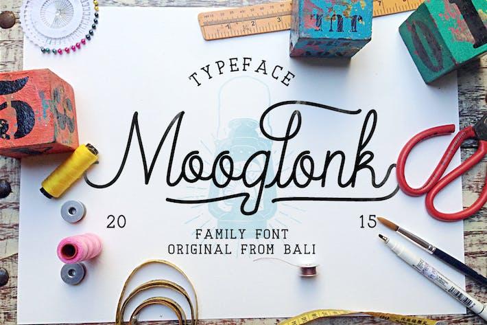 Thumbnail for Mooglonk Typeface