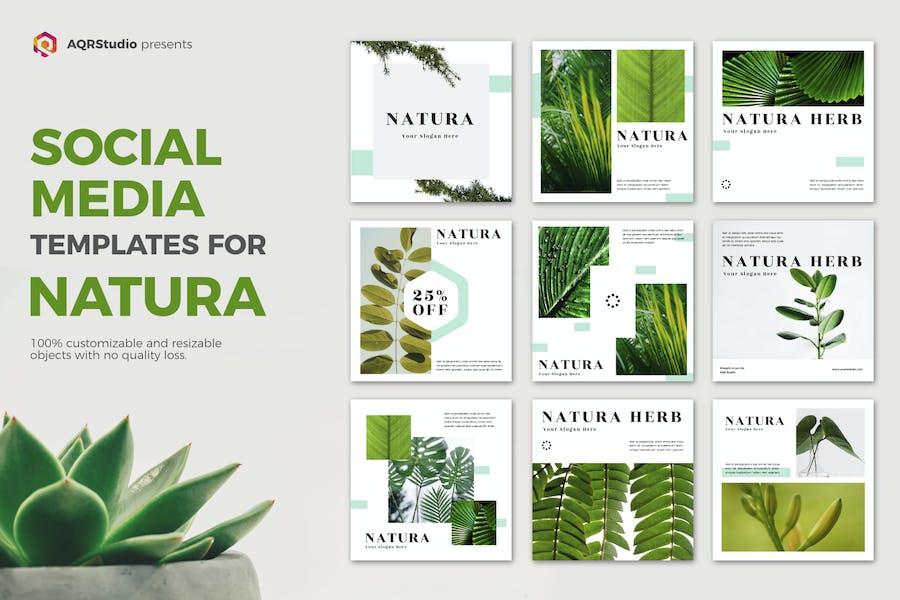 NATURA Media Banner