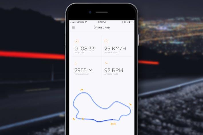 Thumbnail for Bike Dashboard App