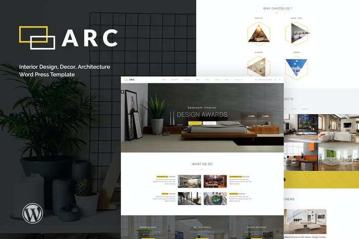 Thumbnail for ARC - Interior Design, Decor, Architecture WordPre