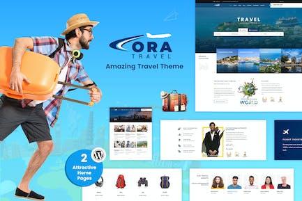 Ora | Travel, Tour Booking WordPress Theme