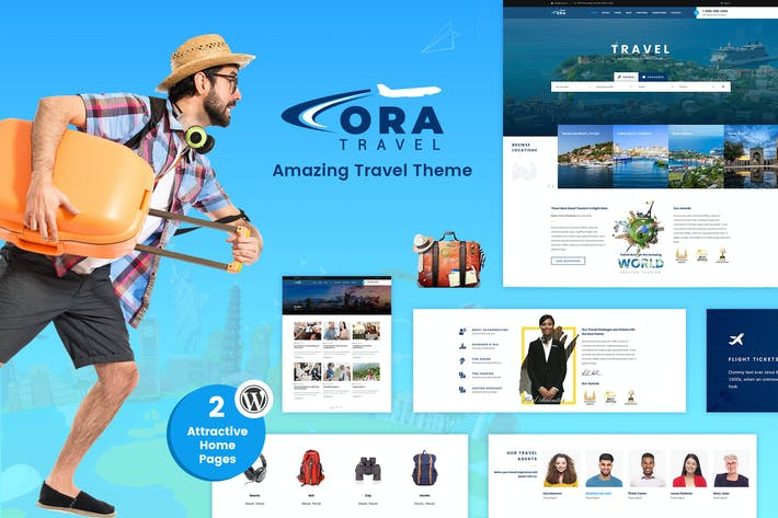 Thumbnail for Ora | Travel, Tour Booking WordPress Theme