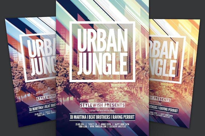 Thumbnail for Urban Jungle Flyer