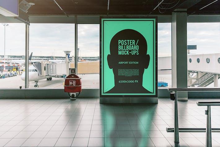 Thumbnail for Póster/Mofetas de cartelera - Edición Aeropuerto #3
