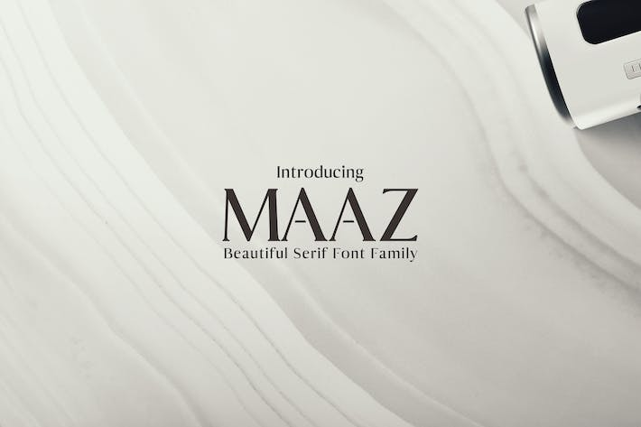 Thumbnail for Maaz Fuentes serif Family Pack