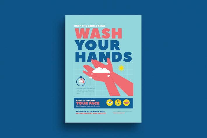 Thumbnail for Wash Your Hand Poster Campaign