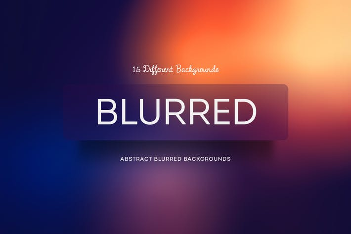 Thumbnail for Blurred  Abstract Backgrounds