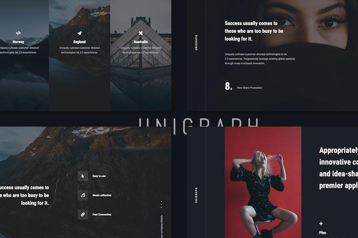 Thumbnail for UNIGRAPH - Portfolio Template (PPTX)
