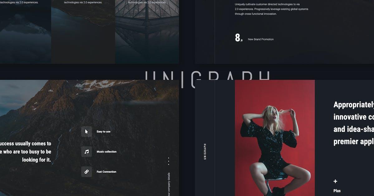 Download UNIGRAPH - Portfolio Template (PPTX) by SimpleSmart