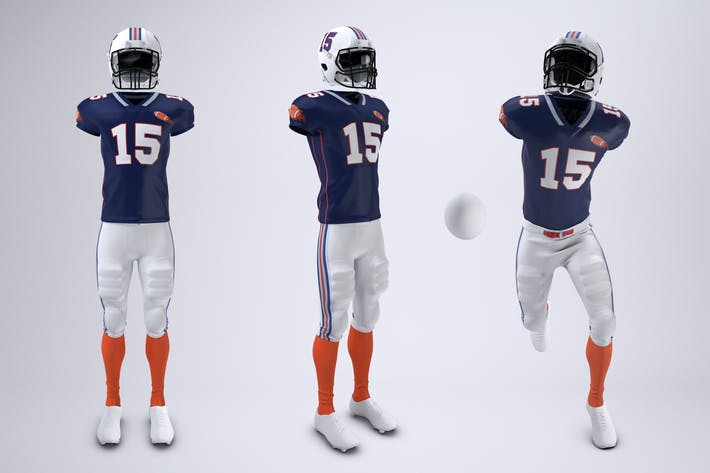 Thumbnail for American Football Uniform Mock-Up