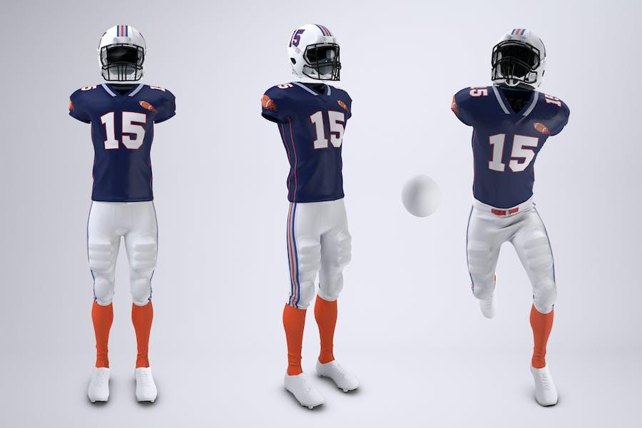 American Football Uniform Mock-Up