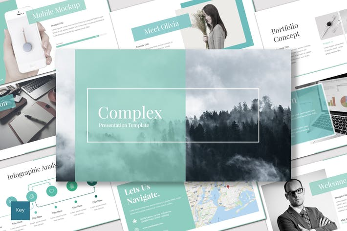 Thumbnail for Complex - Keynote Template