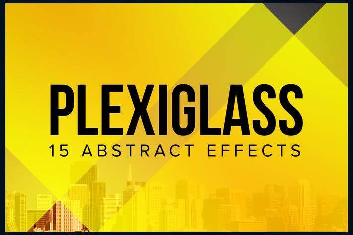 Thumbnail for Plexiglass – 15 Abstract Effects