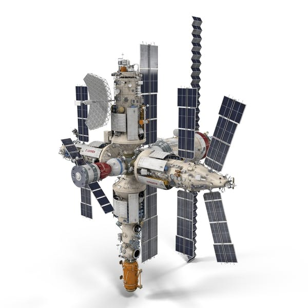 Cover Image for Mir Spacestation