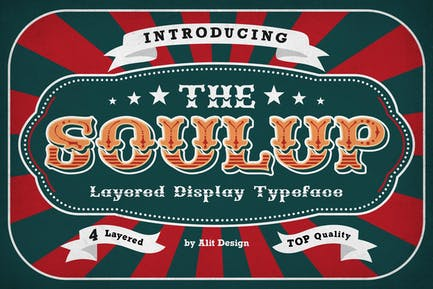 Soulup Typeface