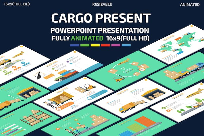 Thumbnail for Cargo Powerpoint Presentation