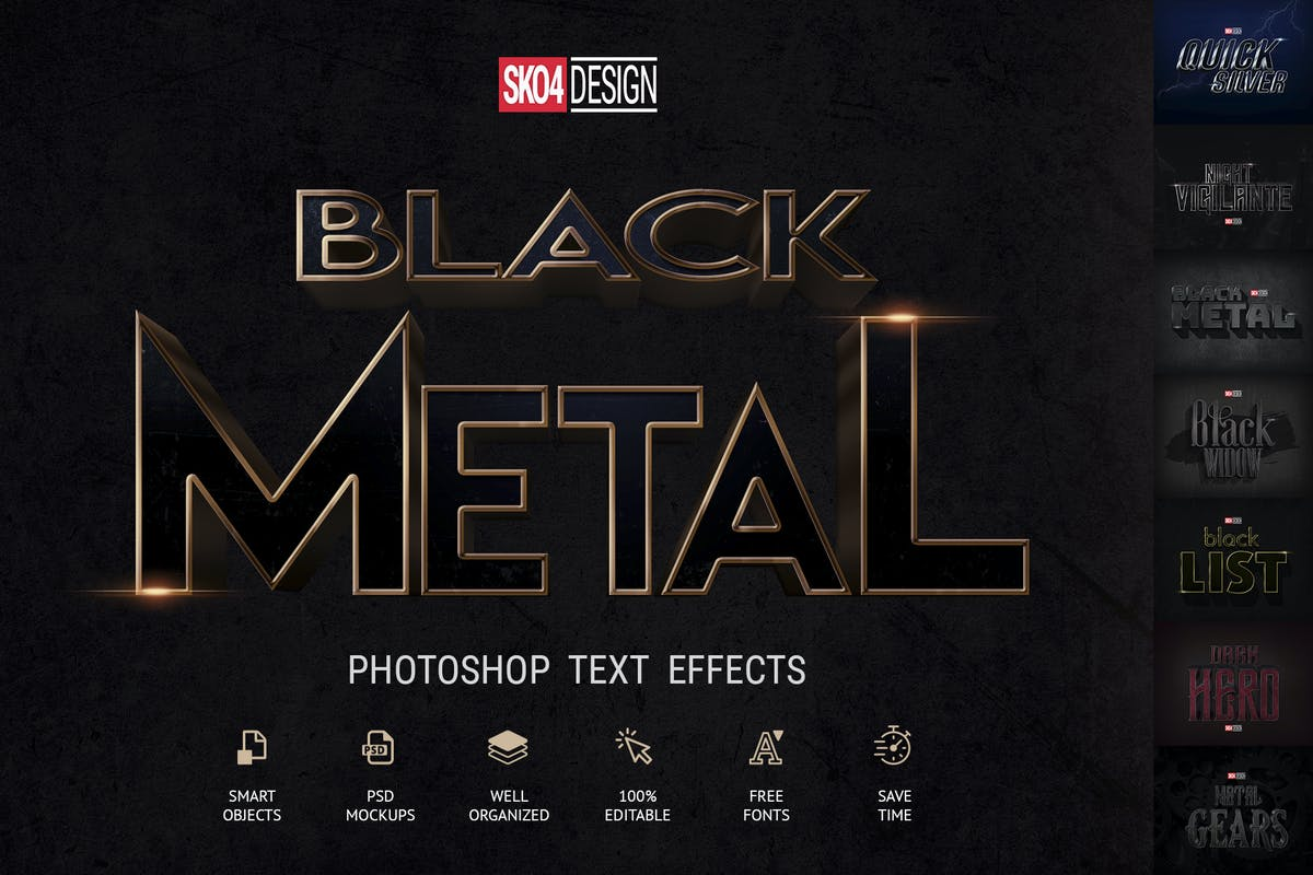 Mobile Game Text Effects vol 2 by Sko4 on Envato Elements