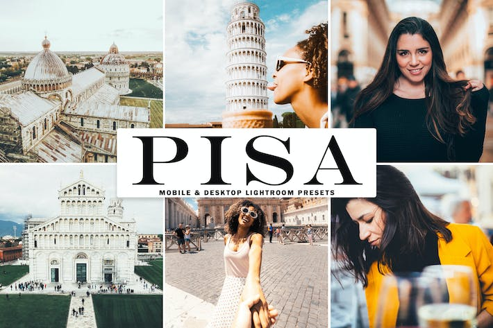 Thumbnail for Pisa Mobile & Desktop Lightroom Presets