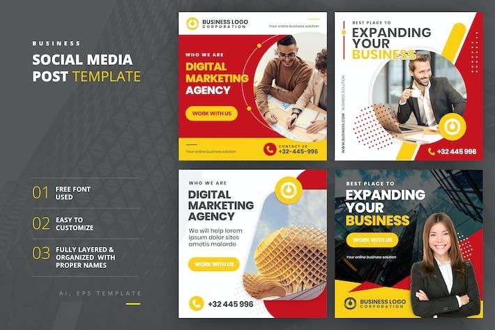 Thumbnail for Business Social Media Post