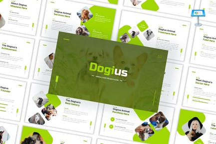 Dogius - Animal Care Keynote Template
