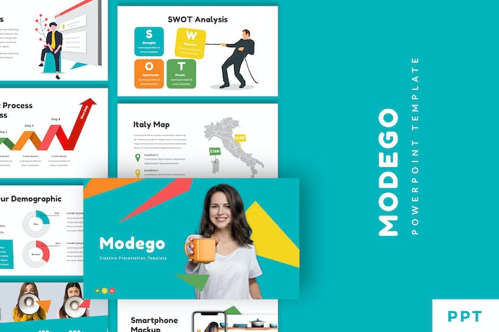 Thumbnail for Modego - Creative Powerpoint Template