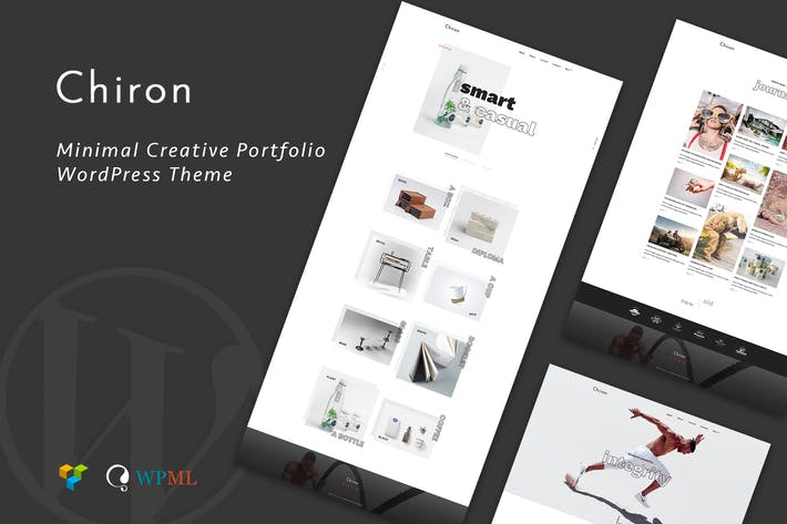 Thumbnail for Chiron | Creative Portfolio WordPress Theme
