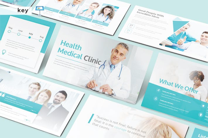 Thumbnail for HEALTH MEDICAL CLINIC - Keynote V253