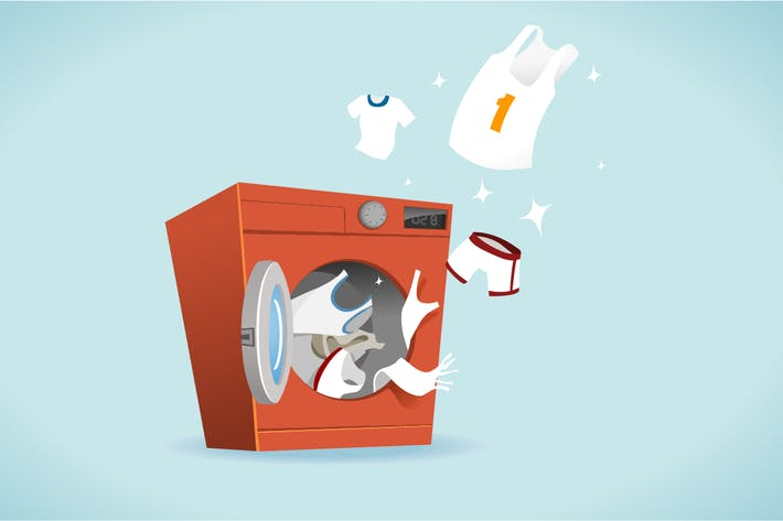 Cover Image For Clean and bright laundry