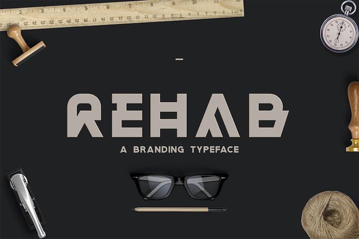 Thumbnail for Rehab - The Display Sans Serif Font